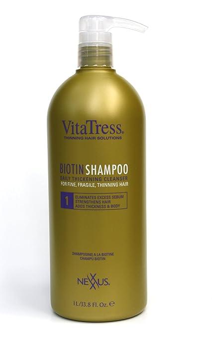 Nexxus Vitatress Biotin Shampoo, 33.8 Ounce