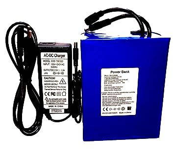Batería Recargable de Litio 12 V 35 Ah 35000 Ma compacta con ...