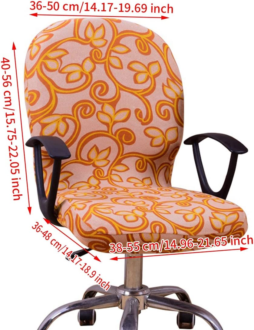 Freahap Armchair Cover Chair Slipcover Swivel Chair Cover Protector Stretchable Coffee