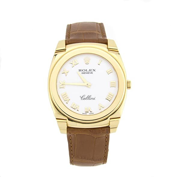 Rolex Cellini mechanical-hand-wind Mens Reloj 5330 (Certificado) de segunda mano: Rolex: Amazon.es: Relojes