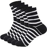 LOVLEOP 靴下 メンズ ビジネスカジュアルソックス 抗菌防臭 通気性抜群 5足/10足セット