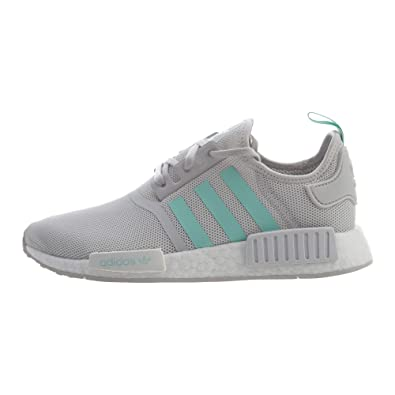 f233a38049bbd adidas Originals NMD R1 Shoe - Junior s Casual 6.5 Grey One Clear Mint