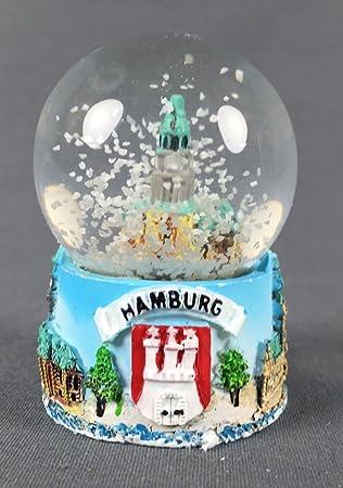 """Kleine Schneekugel Rickmer Rickmers /""""Schiff/"""" Schüttelkugel Glitzerkugel Andenken"""