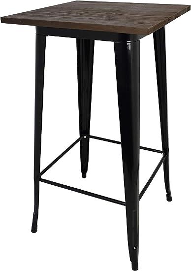 La Silla Española - Mesa baja tipo Tolix fabricada en acero lacado ...