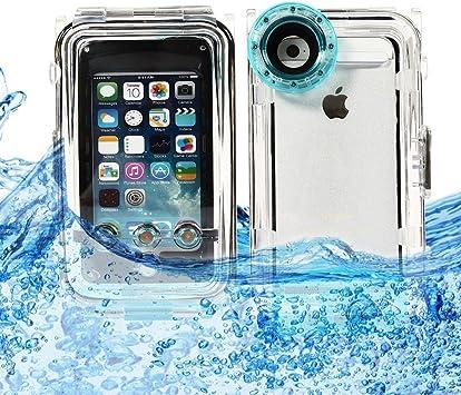 Pengbo® Caja estanca impermeable, repele el agua-Juego de carcasas para iPhone 5 y 5s, iPhone 5c útil para la fotografía submarina subacuáticas actividades, color azul: Amazon.es: Electrónica