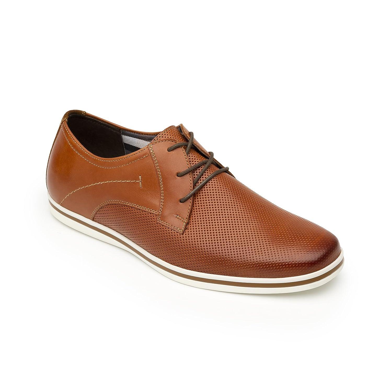 Flexi Shoes Mocasines de Piel Auténtica Para Hombre 40 EU|canela