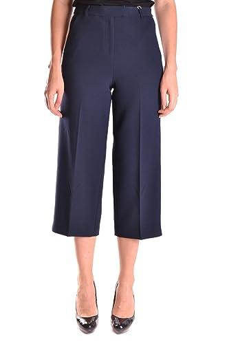 Michael Kors Mujer MCBI208079O Azul Poliéster Pantalón