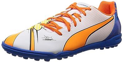 Puma Evopower 4.2 Pop Astroturf Football Boots (White)  Amazon.co.uk ... 78c40343d227