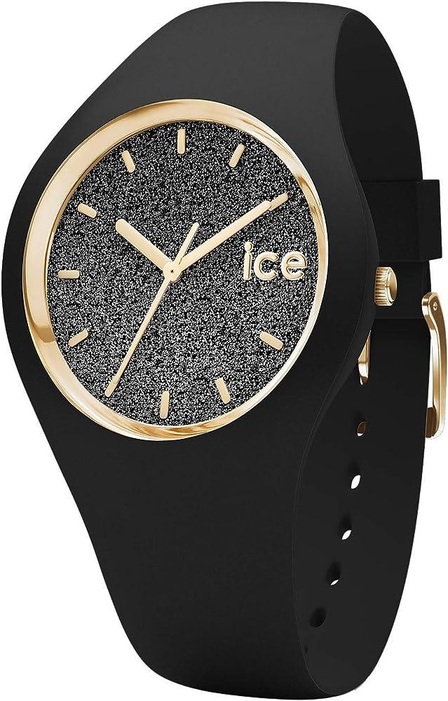 Ice-Watch - ICE glitter Black - Reloj nero para Mujer con Correa ...