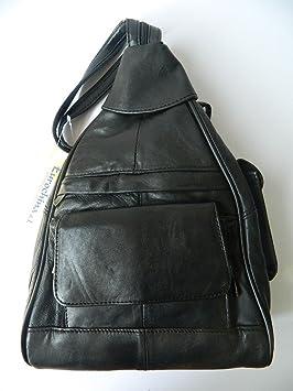 ballade main à ville petit noir dos sac Sacs voyage cuir femme à qP5nzdPx6