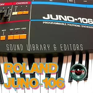 para ROLAND Juno-106 Gran Fábrica & NUEVO Creado Biblioteca ...