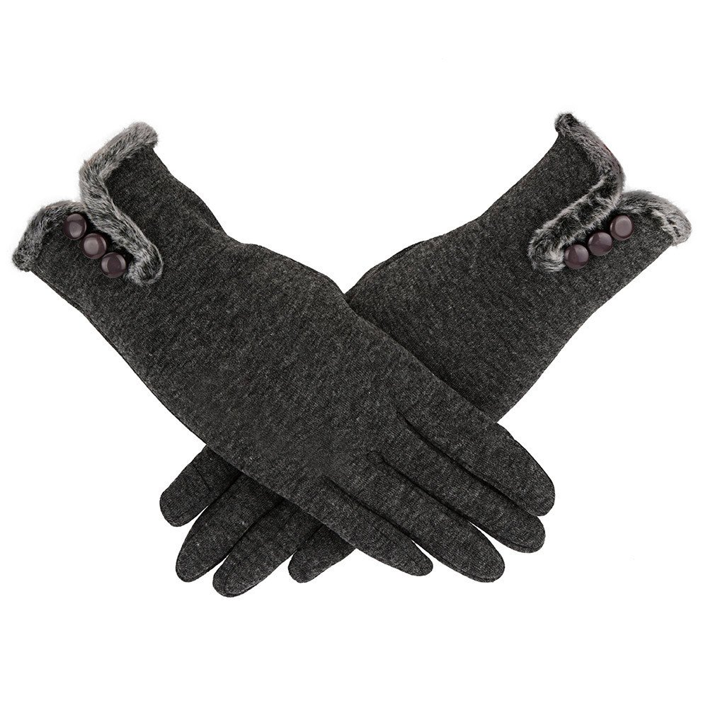 GOVOW Cashmere Gloves Women Touchscreen Winter Keep Warm Driving Full Finger Gloves Touch Screen Glove
