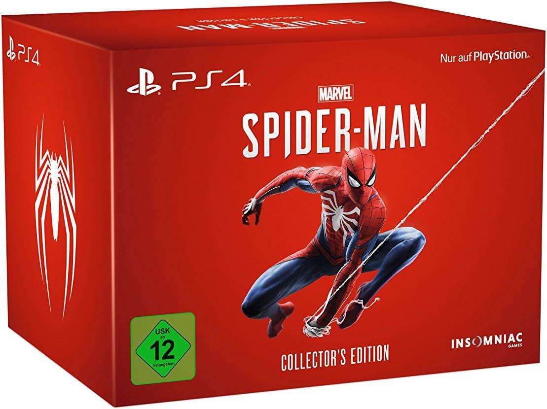 Marvels Spider-Man - Collectors Edition - PlayStation 4 [Importación alemana]: Amazon.es: Videojuegos