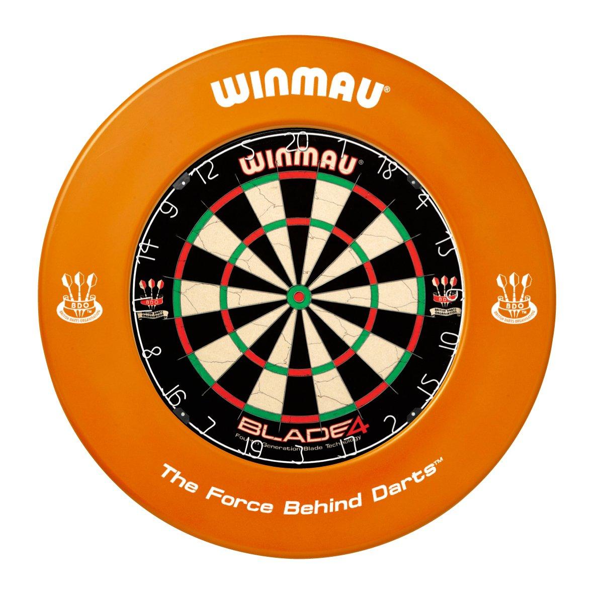 Winmau orange Dartboard Surround Gummi Ring