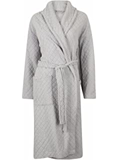 Ladies Marks   Spencer Carved Rose Belted Dressing Gown Robe M S 6 Colours  (16- 4da7267df
