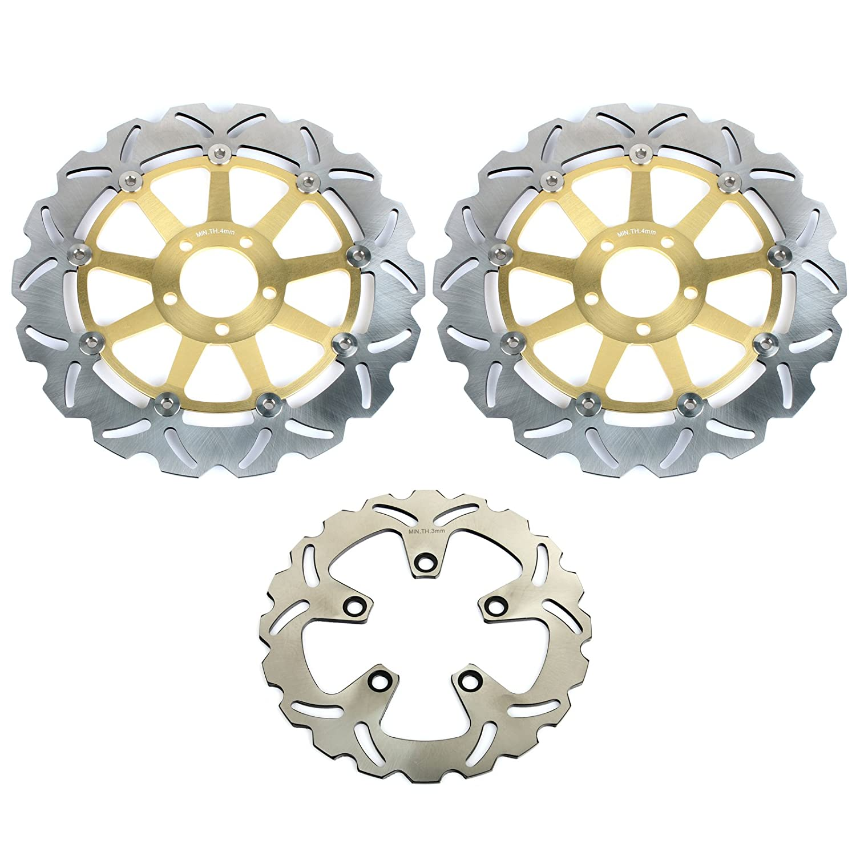 TARAZON Rotores de discos de freno delanteros y trasero para ...
