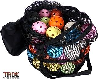 Floorball tRIX-team color lot de 50 balles avec étui MEGASAT s.r.o.