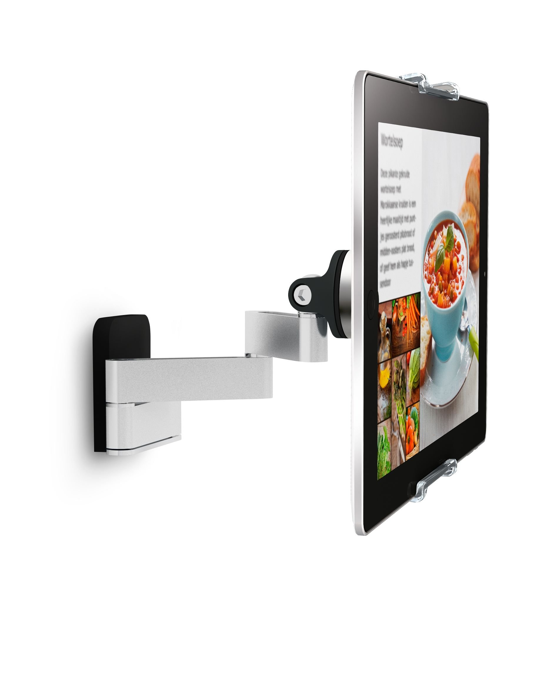 Vogel's Tablet iPad Mount, Universal Fit, Adjustable - TMS series, TMS 1030 Full Motion Swivel, Tilt and Rotating Wall Mount for Home