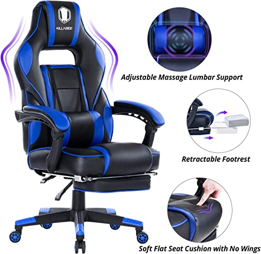 KILLABEE Massage Gaming Chair High Back - The Most Popular Mid-ranger