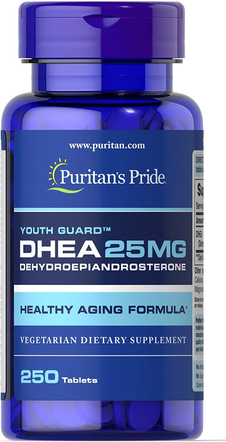 Puritan's Pride DHEA 25 mg-250 Tablets