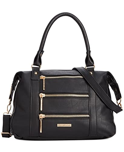 Rampage Womens Zipper Satchel Convertible Lined Satchel Handbag ...