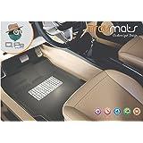 QPO TMMG-106 3D Magic Grip Foot Mat for Mercedes Benz CLS Class (Set of 5, Black)