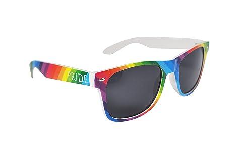 b5c26e60a9eb0 Lunettes de Soleil Gay Pride Couleur de L arc-en-ciel (Gay Pride ...