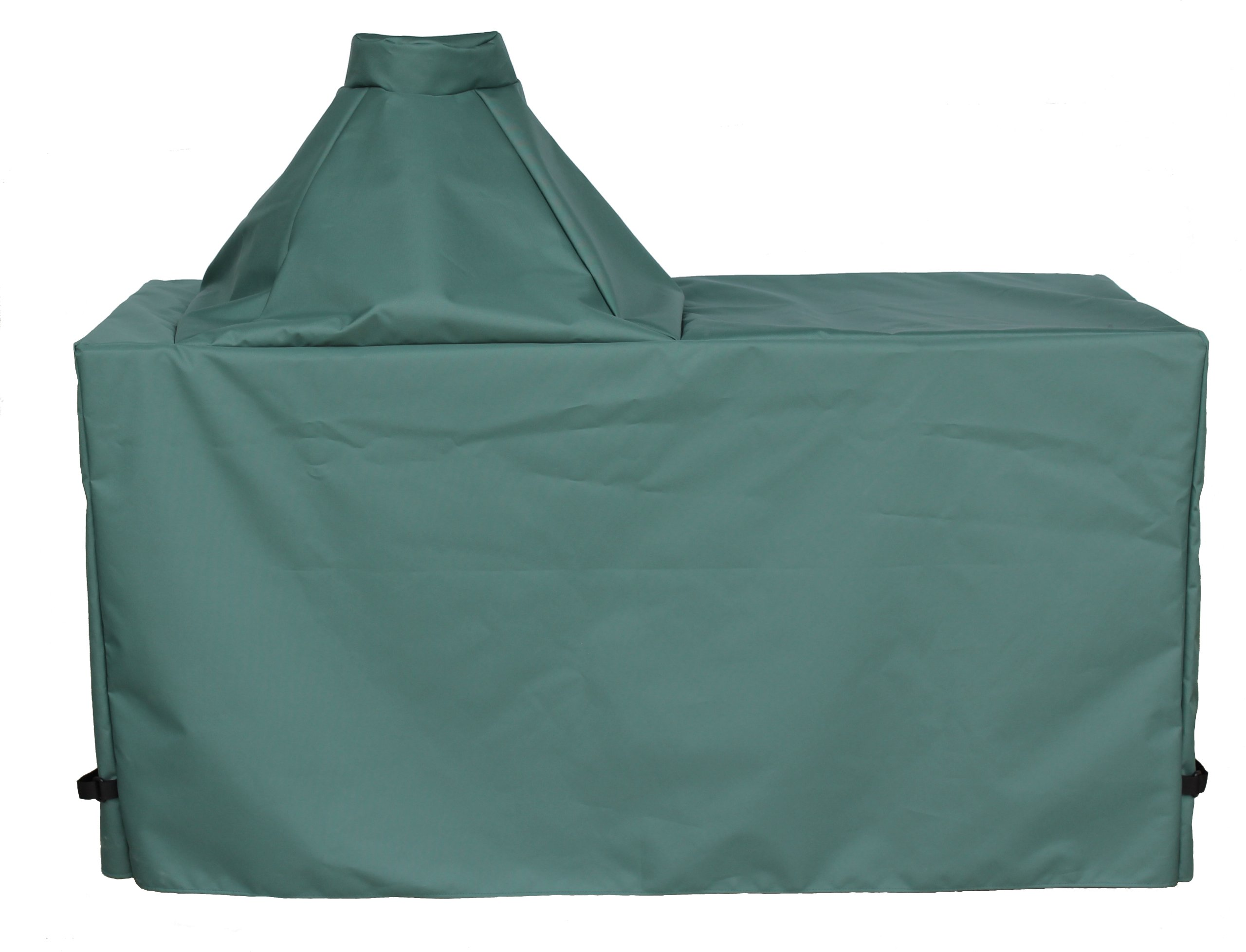 "Cowley Canyon Brand Large Big Green Egg – Kamado Table Cover, 60""L-27""W-31""H."