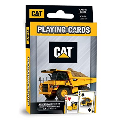 MasterPieces Caterpillar - Playing Cards, Assorted: Toys & Games