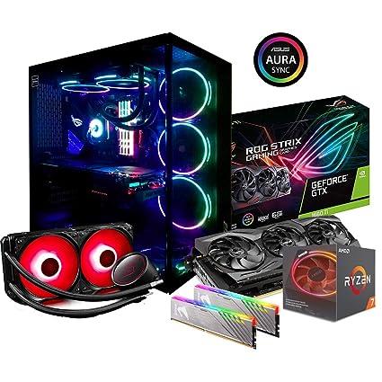 PC Gaming Desktop Ryzen 7 2700 x 4,30 GHz Turbo, gráfica GTX 1660 Ti 6
