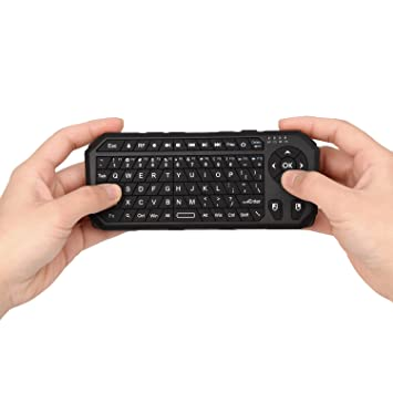 Cooper Cases(TM) Remote Wireless Handheld Keyboard w/ Air Mouse  (Windows/Mac OS X/Linux OS Compatible