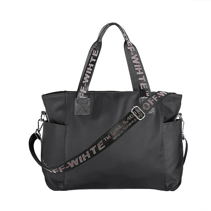 1fe5733d2f Amazon.com  Missalis Travel Weekender Bag Duffle Bag Gym Totes in ...