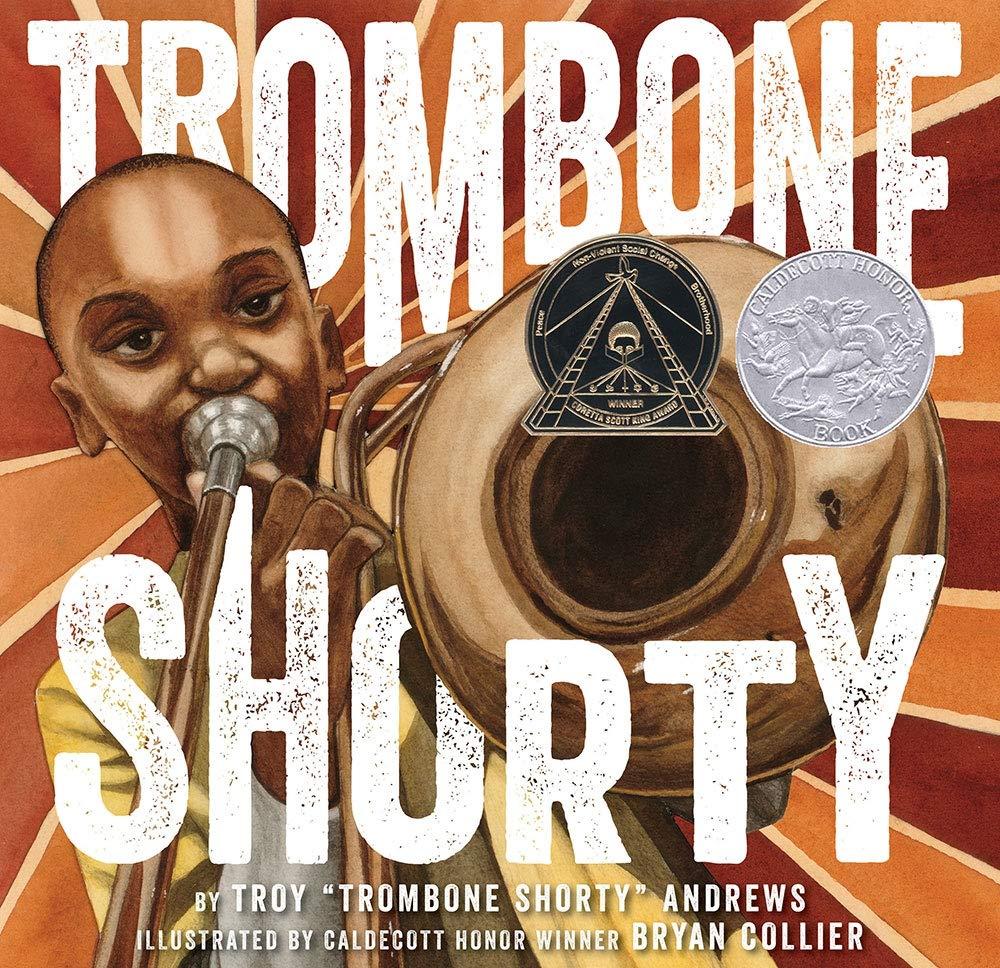 Amazon.com: Trombone Shorty (9781419714658): Andrews, Troy, Collier, Bryan:  Books