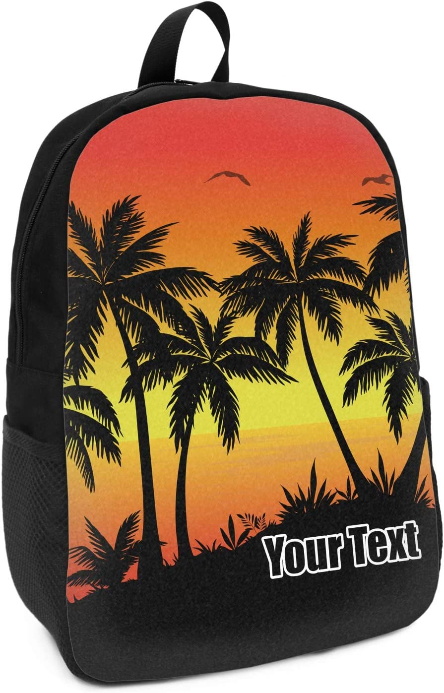Personalized YouCustomizeIt Tropical Sunset Duffel Bag