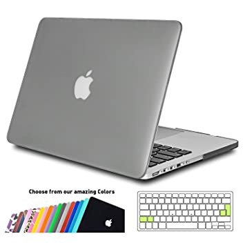 Funda MacBook Pro 13 Retina,iNeseon Ultra Delgado Carcasa Dura Case con Cubierta del Teclado Transparente EU Layout para Apple MacBook Pro 13.3 ...