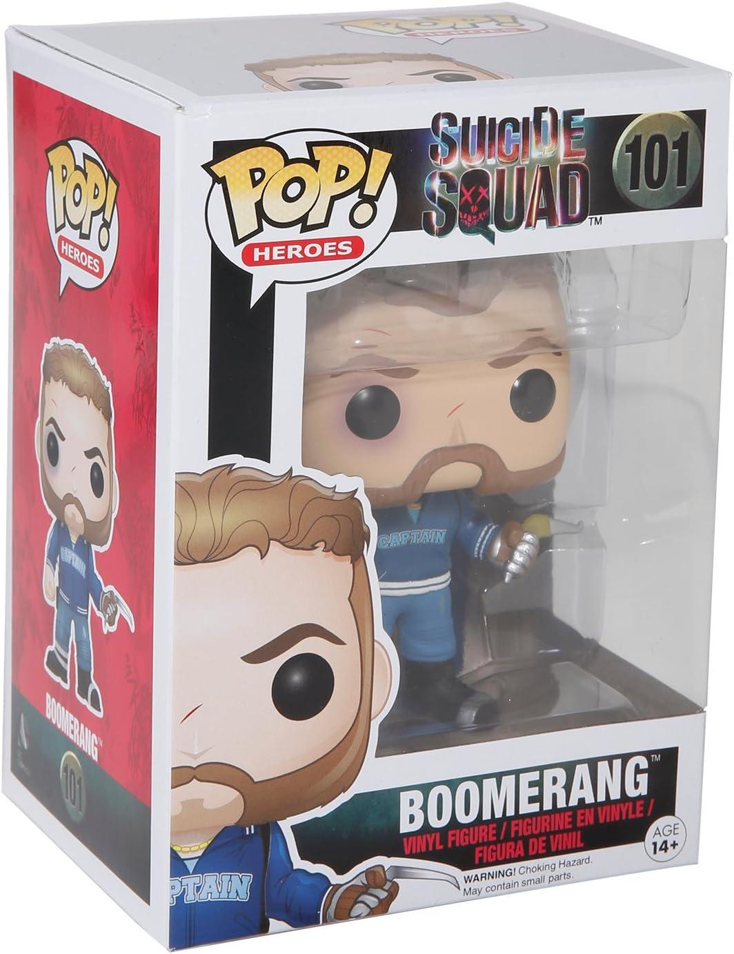 POP! Vinilo - Suicide Squad: Boomerang: Funko Pop! Movies:: Amazon.es: Juguetes y juegos