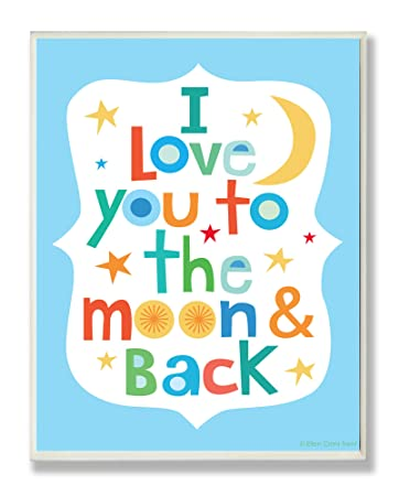 The Kids Room by Stupell I Love You Alphabet Rectangle Wall Plaque