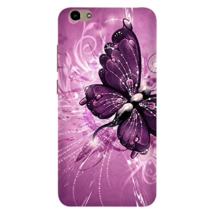 promo code 1afdf 4804c Casecover Mobile Butterfly Printed Back Cover for Vivo: Amazon.in ...