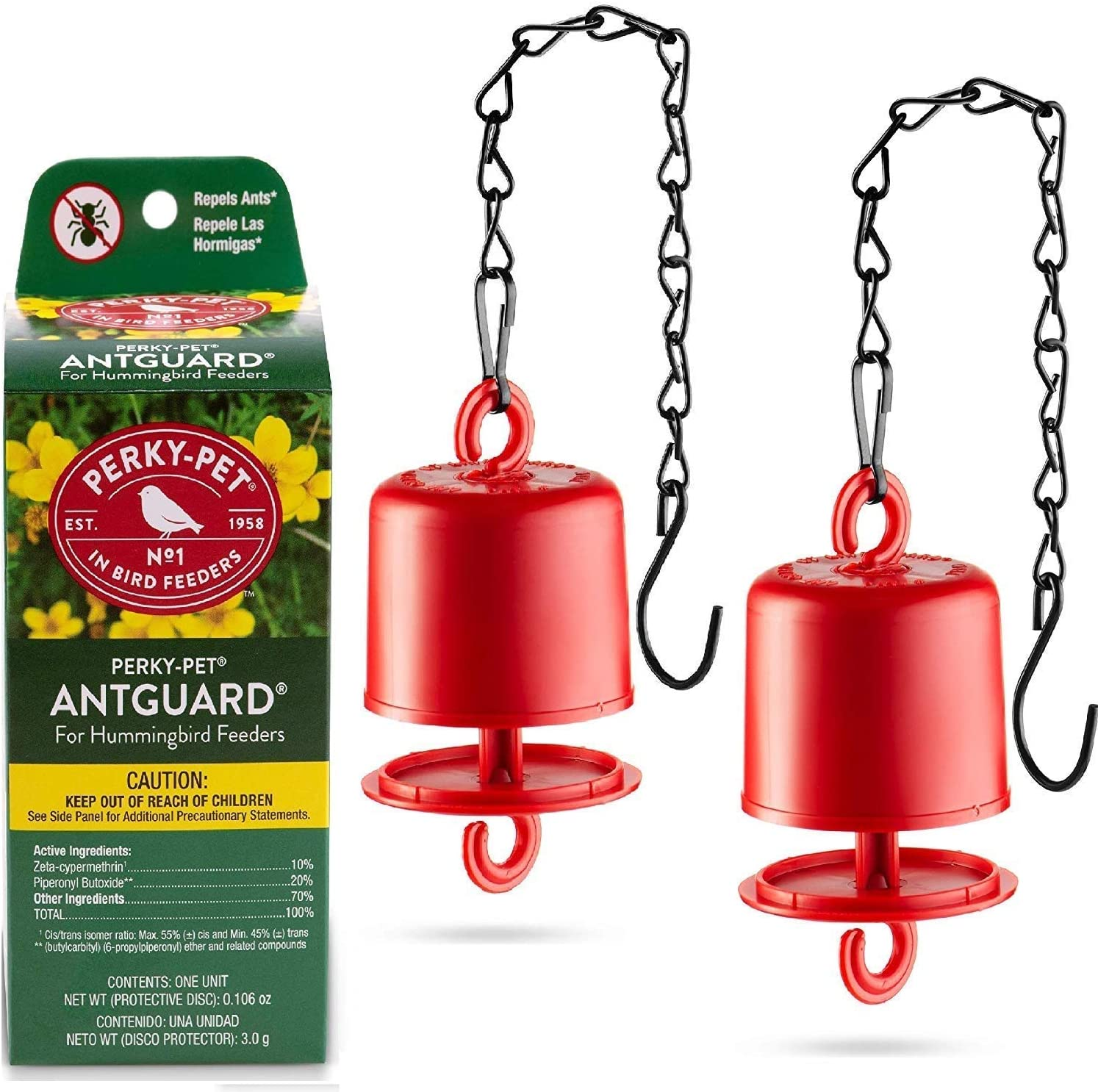 Amazon.com : Ant Guard For Hummingbird Feeders - Repels Ants ...