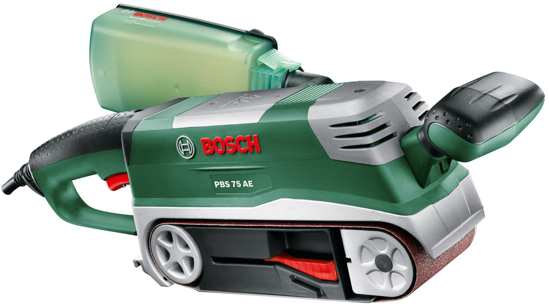 Bosch 06032A1101 Set Lijadora de Banda, 240 V, 750 W y maletín product image
