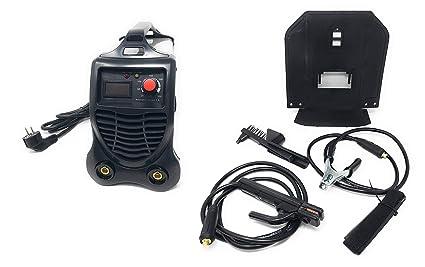 PC Store – Soldador a electrodo eléctrica Inverter igbt-300 Soldadura 300 A cerrajero Cable 2 mt