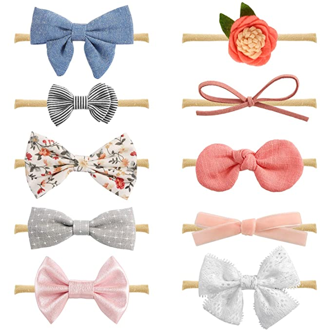 Generous Newborn Baby Girl Headbands Baby & Toddler Clothing