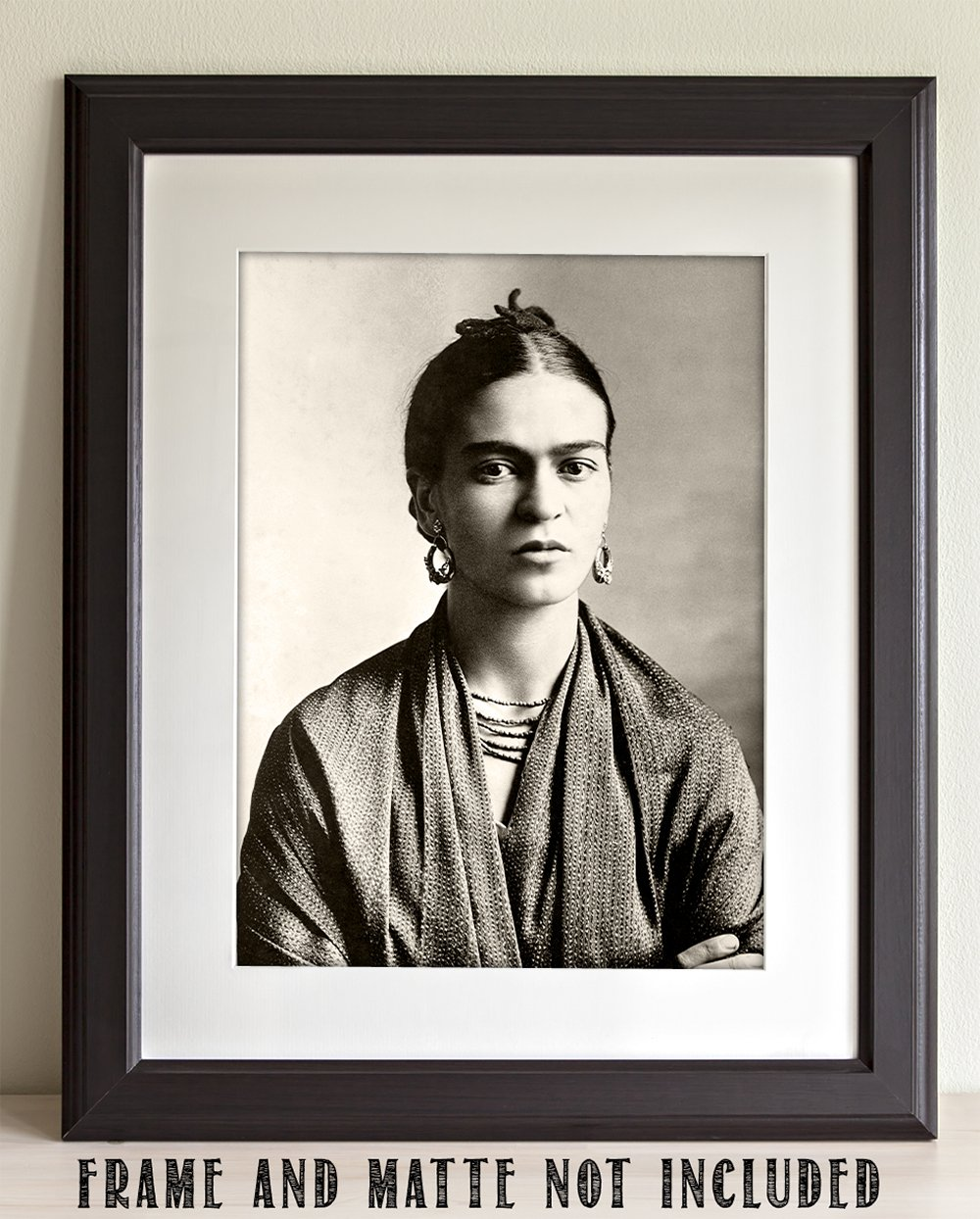 Amazon com lone star art frida kahlo wrap photo 11x14 unframed print perfect vintage house decor posters prints