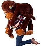 The Giant Monkey Stuffed Plush Toy Doll Perfect Bithday Present Kids Gift 110cm