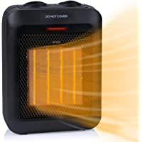 Amazon Price History for:Portable Electric Space Heater 1500W/750W, Ceramic Room Heater with Tip-Over and Overheat Protection, 200 sq. Ft Fast…