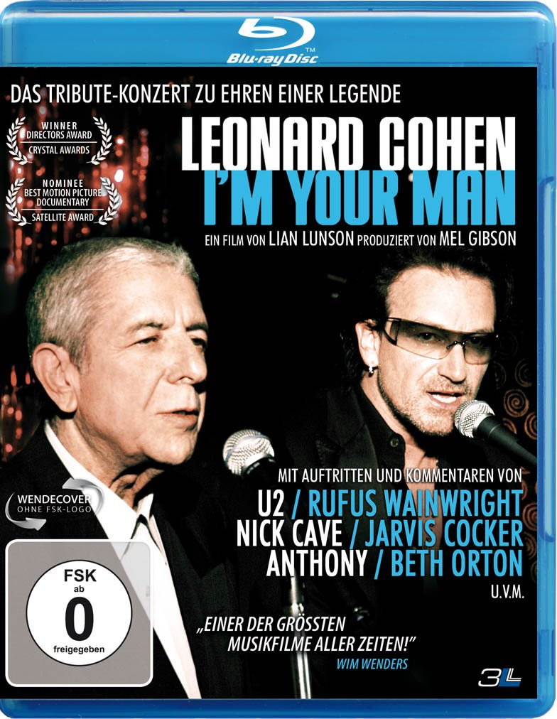Leonard Cohen – I'm Your Man (2005) DOCU 720p+1080p MBLURAY x264-DEV0