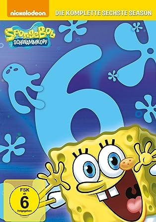 Spongebob Schwammkopf Die Komplette Sechste Season 3 Dvds Amazon