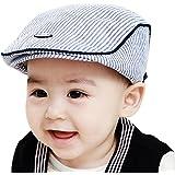 Chapeau Béret Bonnet Casquette Carreaux Noir pour Enfant Bébé Fille Garçon  SODIAL 038800 364ec964a06