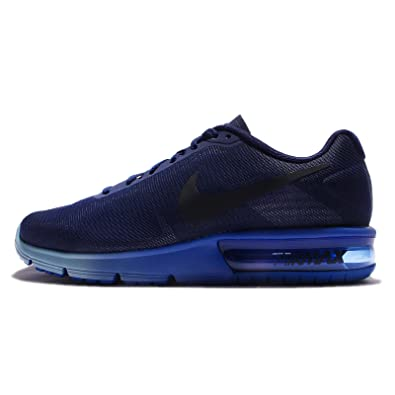 the best attitude a1553 01151 Nike Men s Air Max Sequent Competition Running Shoes, Multicolour (Loyal  Blue Dark Obsidian