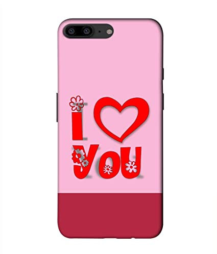 new concept 40ace 002c1 FUSON I Love You Print Designer Back Cover for OnePlus: Amazon.in ...